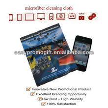 custom print microfiber screen cleaning cloth