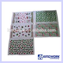 2014 hot sale Cheap cotton printed tea towel