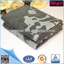 100%modacrylic woven airline blanket