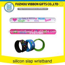 silicone slap wristband watches