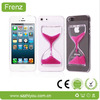 Hourglass transparent PC case for iphone5 for iphone 5s hard case
