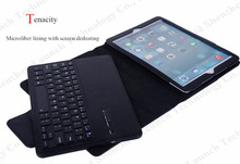 for iPad leather case with bluetooth keyboard,bluetooth keyboard leather case for iPad 2/3/4