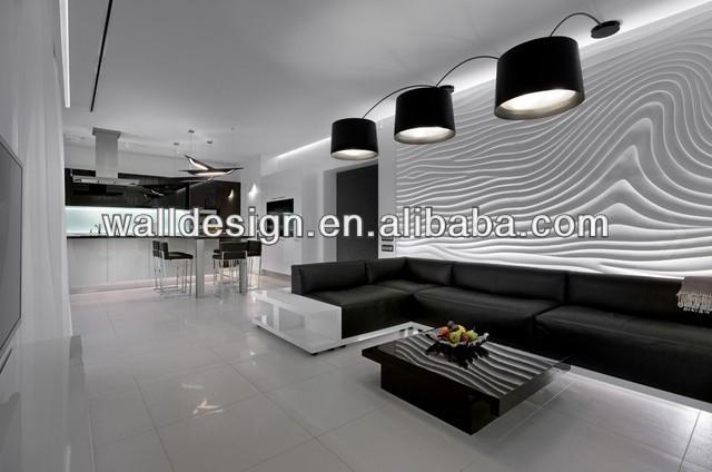 D coratif mdf panneaux muraux utilis pour salon mur d coration papiers peint - Panneaux muraux design ...