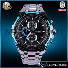 2014 hot selling stainless steel curren watch