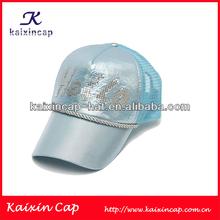 2014 fashion new design trucker mesh cap with custom logo / curved brim