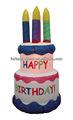 180cmh/6ft اليومية تصميم الديكور العملاقة نفخ كعكة عيد ميلاد