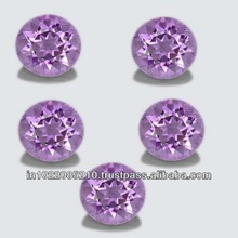 Natural Amethyst AA color 6 mm Round 5 pieces