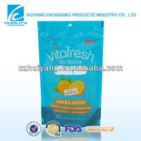 Safety Food Grade!! Ziplock printed food packaging plastic dry bags for dried fruit packaging