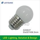 G35 E27 LED bulb led mini bulb led refrigerator lamp