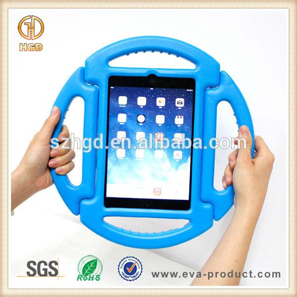2014 popular design for ipad mini case 2 with flexible handles