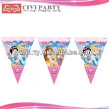 paper Party flags wholesales pure black car flag