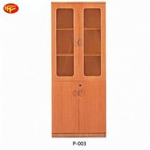 [china office furniture]KD wall mounted led cabinet billboard from china manufacture with drawers P-003
