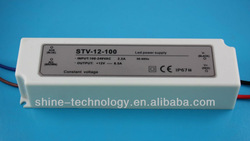 High quality 100w 12v pwm led driver, CE RoHS with two years warranty