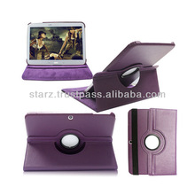 "For Samsung Galaxy Tab 3 10.1"" P5200 P5210 Rotating Stand Leather Cover Case"