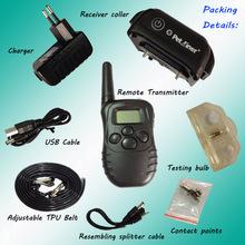 4-Electronic 998d remote dog control collar training collar (Control 1 dog)