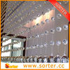 new design crystal bead curtain from sorter