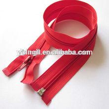 No.5 Nylon zipper with silver teeth nylon wallet with zipper