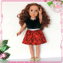 2014 hot sale doll clothes custom doll clothing wholesale