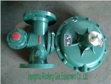 Spring loaded regulator used for natural gas generator set