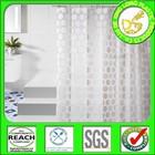 3D EVA PEVA PVC colorful bathroom shower curtain