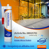 Non Toxic Certificated Prefessional Excellent Waterproofing 100% Silicone Based Fish Tank Glue