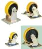 heavy duty pu / nylon / rubber caster with ball bearing