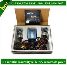 h1 h3 h4 h7 h8 h9 h11 9004 9005 9006 9007 CE approved hid xenon kit 12v 35w 6000k