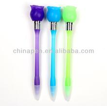 flower top plastic ballpoint pens