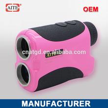 6*24 400m pin seeker function rangefinder plastic golf club toy