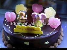 la venta a granel 3d de impresión lenticular de torta de cumpleaños de la imagen