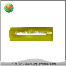 atm spare part yellow anti skimmer anti device bezel