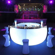 Glow night club bar counter design