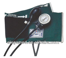 Arm digital sphygmomanometer with D-ring cuff