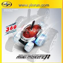 10031 rc stunt mini monster car 360 degree with LED lights