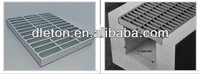stainless steel grating drain cover/drainage gutter/shower floor grate drain