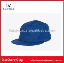 Promotional 5 Panel Hats/ Caps/ Blank Color Designed Caps
