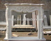 decorate corner stone fireplace mantel
