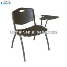 high quality plastic school chairs with writing pad