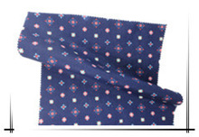 Cotton spandex poplin with cold transfer printing fabric