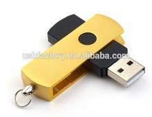 Differeent Colors Shapes Swivel USB Pen Drive, Twist usb drive key, Promotional key drive pens 4gb 8gb