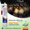 250C Long Term 100% Heat Resistance Silicone Based High Temp Caulk