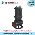 Movable 2.2kw no- la obstrucción de las aguas residuales sumergible de la bomba goulds y fabricación de bombas