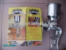 150# 500# manual corn grinder/ grain mill/ corn muller factory