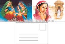 Lenticular sheet Egypt beautiful girl 3d postcard for tourist gift