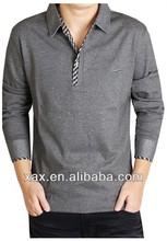 mens cotton high neck t-shirts