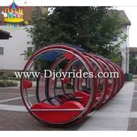 Children or adult electronic rotating car amusement park equipment