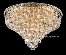 Celling light modern round indoor cristal ceiling light