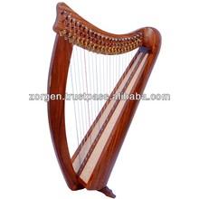 22 String Round Back Harp