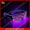 el flashing glasses Light for party show crazy 2014 party funny glasses