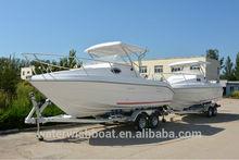 WATERWISH boat QD20.5 CABIN fibreglass leisure boat